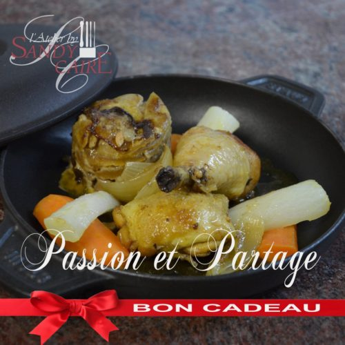 Cours de cuisine passion et partage